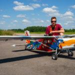 РС-6 Porter в тверском небе